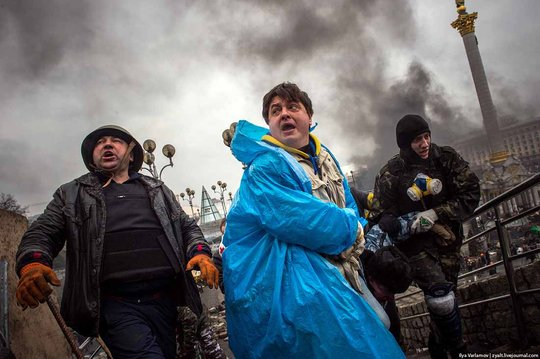 Ukraine's mass protests: 100 killed, 600 wounded