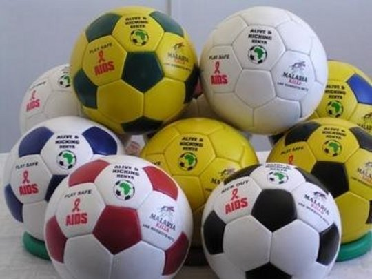 A selection of Alive & Kicking Balls