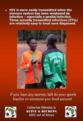 Catherine Ndereba & HIV/AIDS Awareness
