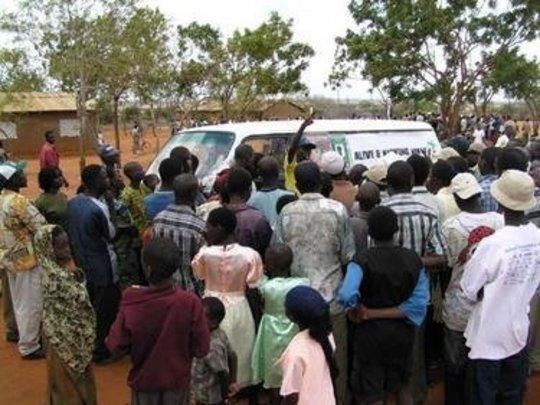 Creating HIV/AIDS Awareness in Maungu