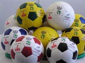 A selection of Alive & Kicking Balls