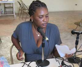 A Haitian woman speaks out through community radio