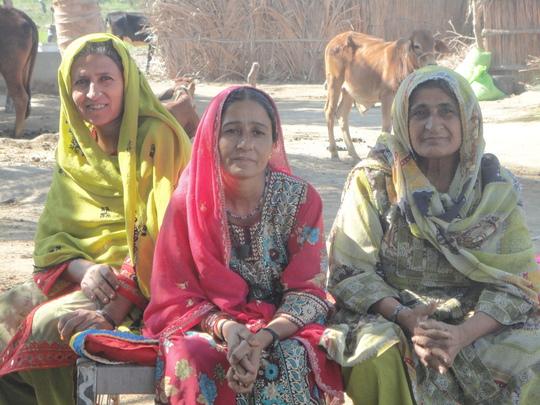 Noor Nisa, Hameeda and Gul Bibi