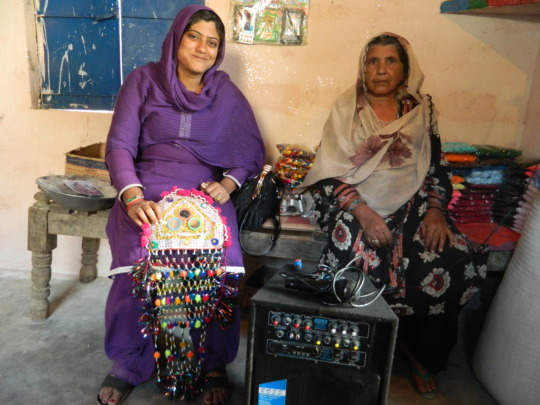 Farzana and her mother