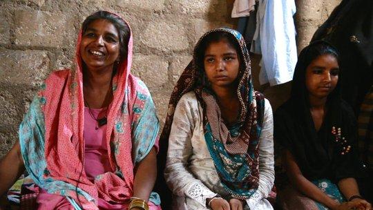 Haseena happily relating her change of events