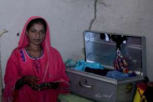Sohni- saving up for her marriage