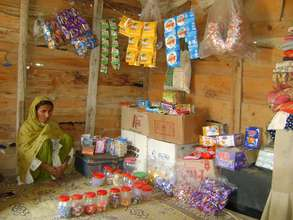 A shop as source of income