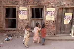 Polio immunization posters