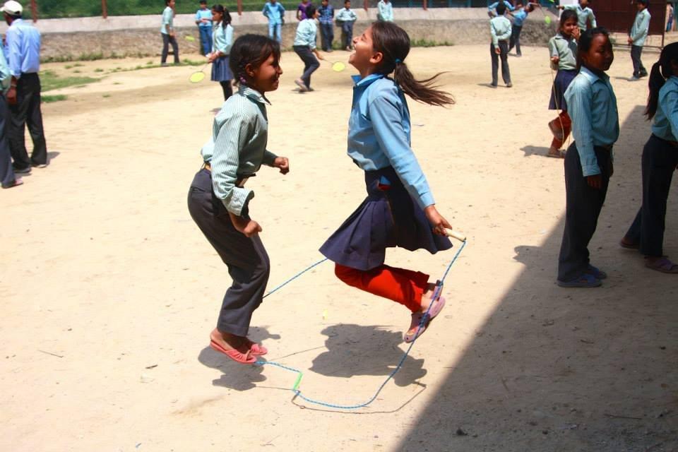 Post-Earthquake Child Education Program in Nepal