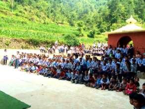 Balchandra School in Rayale, Nepal