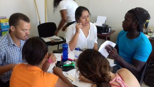 Teachers & Assistants Collaborating on Curriculum