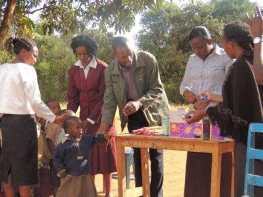 Children Receiving Support
