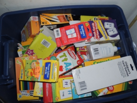 School Supplies- Courtesy C4KK