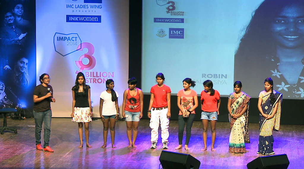 Performing at Mumbai