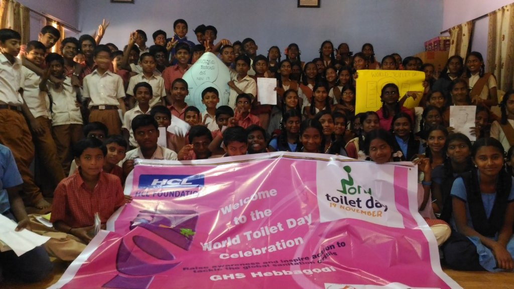 Celebration of World Toilet Day on November 19th