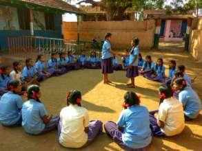Capacity Building of Children through activities