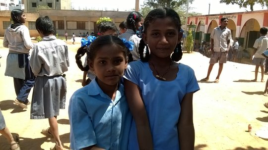 Girls at the Government School