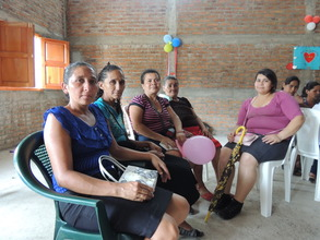 Moms from 5 villages came for the outreach event.
