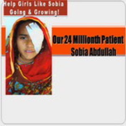 Baby Sobia - LRBT's 24 Millionth Patient