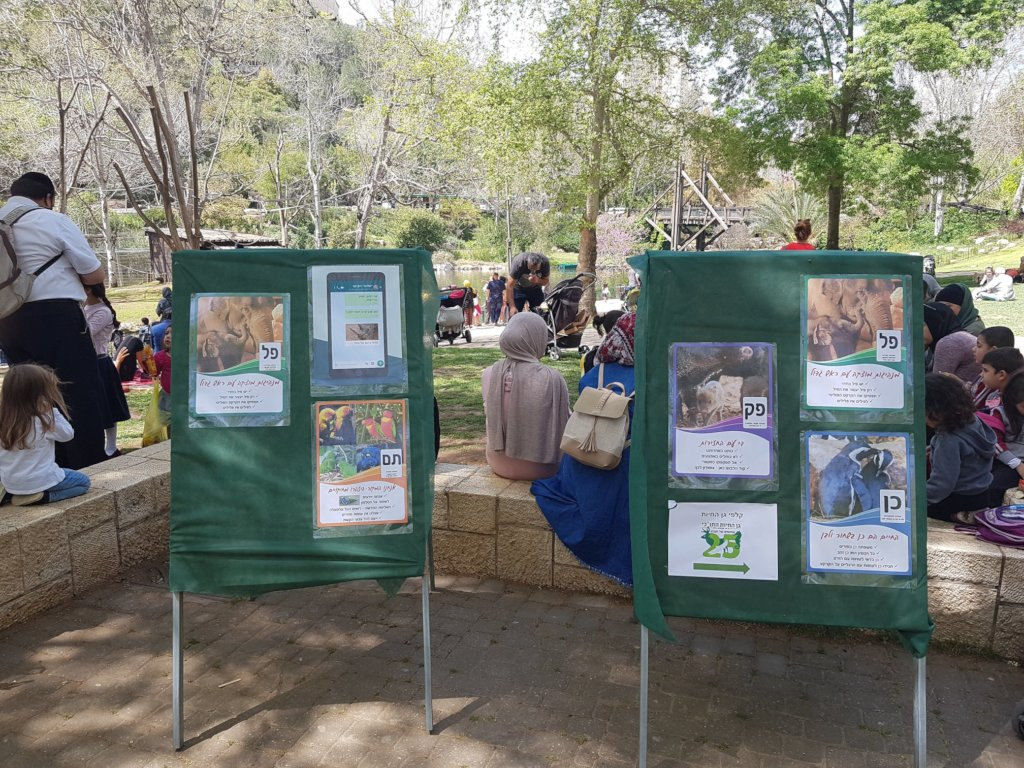 Diverse visitors attend special zoo activities