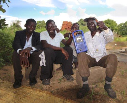 Zambian father listeners