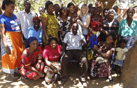 The Glory Listener Group in Western Zambia