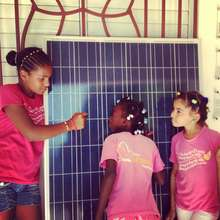 Solar Energy at The Mariposa Center for Girls!