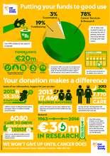 Irish Cancer Society where your money goes (PDF)