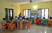 Teach computer basics to rural children in summer