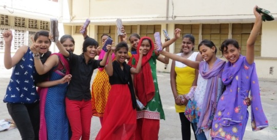 Happiness After Girls Passed their Class X exams