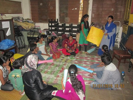 Girls Participate in Youth Council