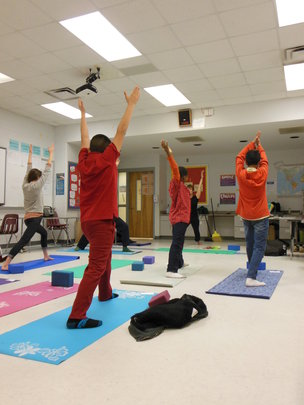 Yoga in Orange County Charter Schools