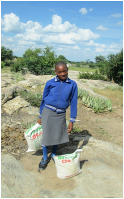 Goats for children affected by HIV/AIDS