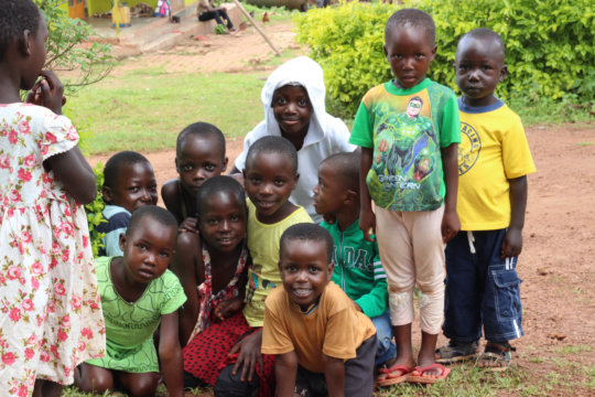 Set up a hybrid piggery project for kids in Uganda