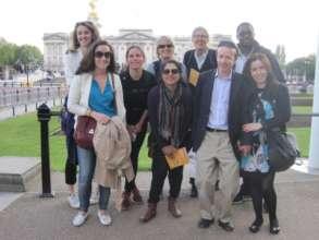 Team PAS on sponsored walk