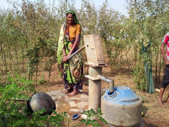 Access to Water for 300 Rural Indian Families