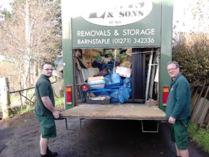 Our two hard working removal men