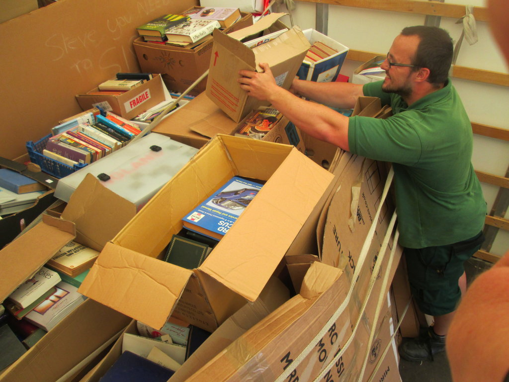 Books by the pallet-load for African children