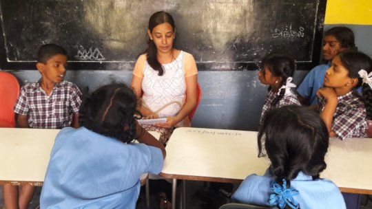 Volunteer Teaching Spoken English