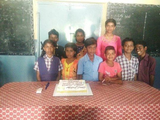 Birthday celebrations in school