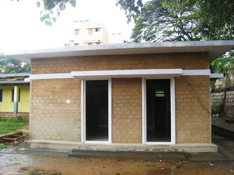 Newly constructed Building