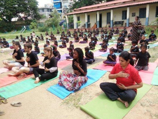 June 21st international Yoga Day