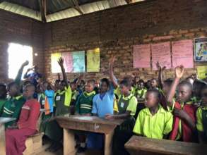 Students at the Glory of Christ Primary School