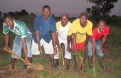 New Boost of Life for 5 Youth Farmers