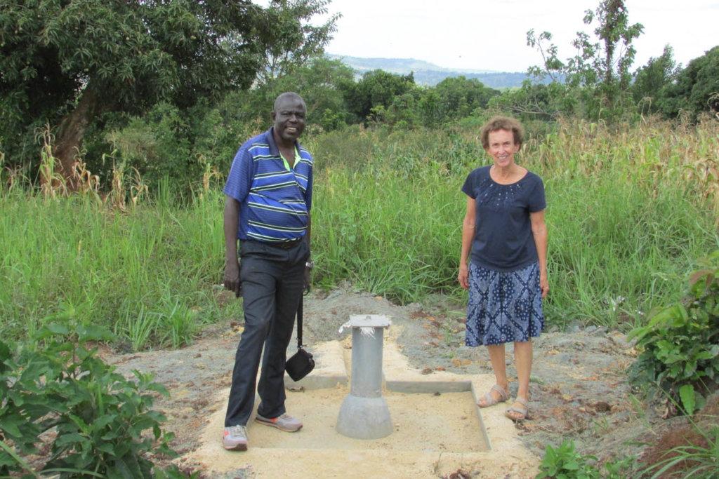 Carol & David, Project Manager at New Jinja Well