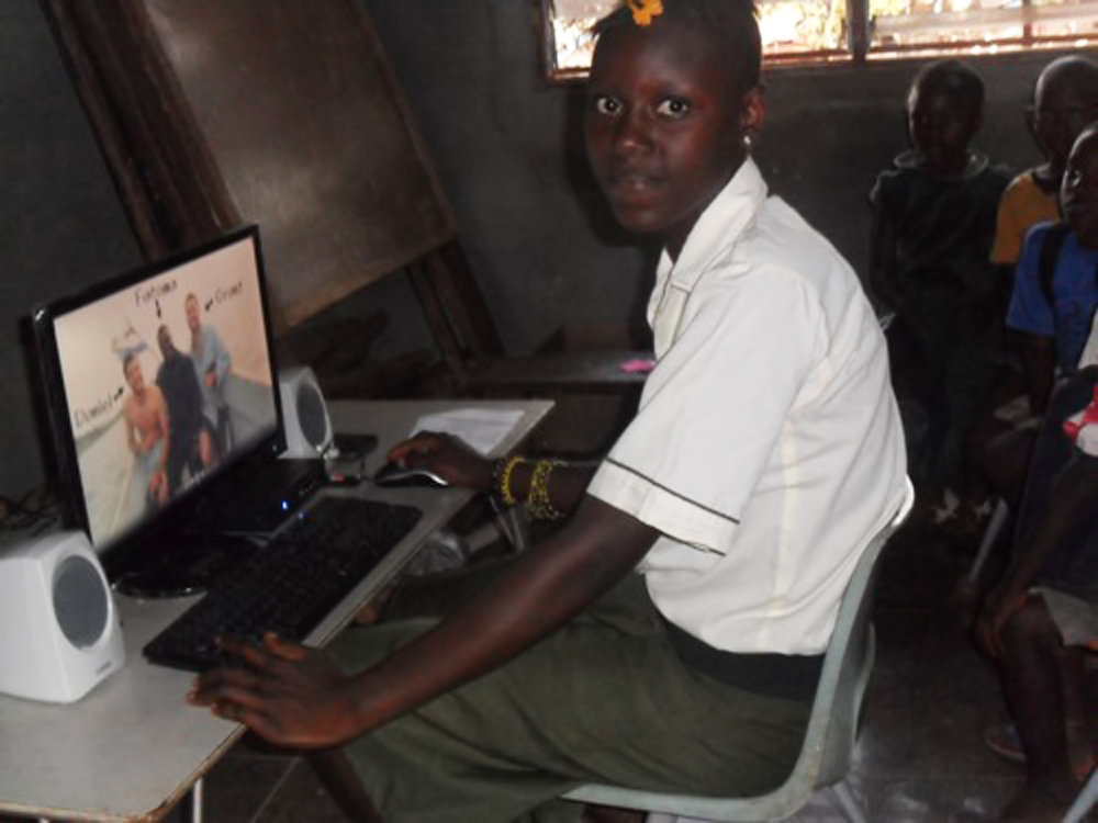 Provide Computer Training at Freetown Computer Lab