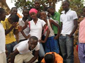 Youths at Door of Hope
