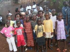 group of children at Door of Hope