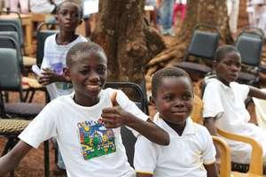 boy beneficiary at Door of Hope