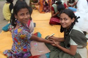 heena art activity in LSE class